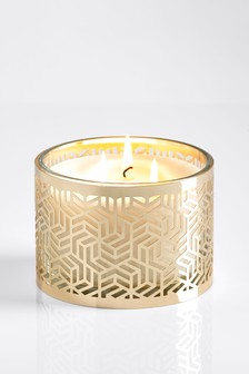 Gold Oud 3 Wick Candle