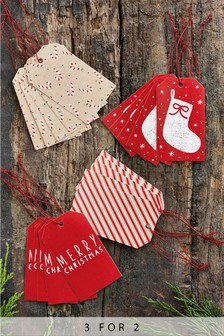 20 Pack Christmas Gift Tags