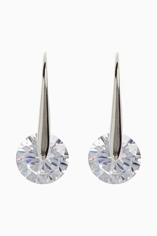 Stone Effect Drop Earrings