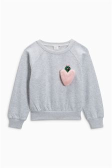 Heart Monster Sweater (3-16yrs)