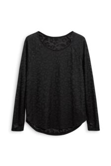 Animal Pointelle Top