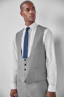 Textured Tuxedo Suit: Waistcoat