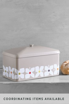 Retro Floral Bread Bin
