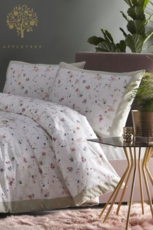 Appletree Mist Duvet Cover And Pillowcase Set