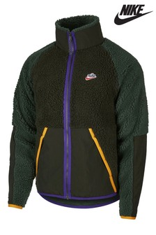 Nike Heritage Polar Fleece Zip Through Jacket