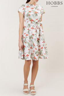 Hobbs White Sorrento Dress
