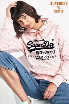 Superdry Pink Hoody