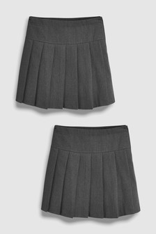 Long Pleated Skirt Two Pack (3-16yrs)