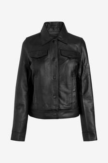 Leather Western Jacket