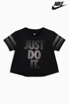 Nike Black Crop JDI. Tee