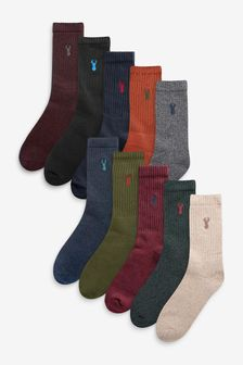 Heavyweight Socks Ten Pack