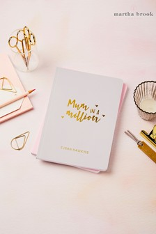 Personalised Mum In A Million Notebook by Martha Brook