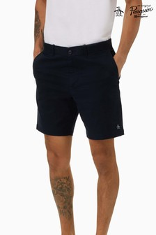Original Penguin® Blue 8 Basic Logo Short W Shorts