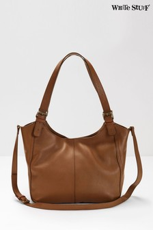 White Stuff Tan Bailey Hobo Bag