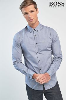 BOSS Cotton Poplin Shirt