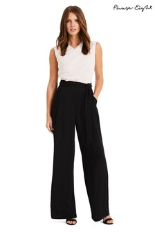 Phase Eight Pink Ros Contrast Jumpsuit