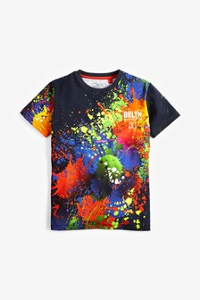 Colourful Splat T-Shirt (3-16yrs)