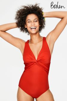 Boden Indie Red Maratea Swimsuit