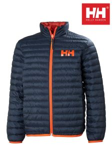 Helly Hansen Navy Barrier Down Reversible Jacket