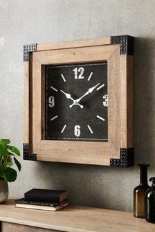Salvage Wood Wall Clock