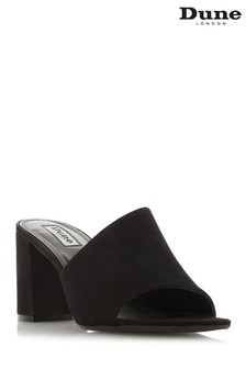Dune London Black Suede Shoe