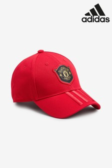 adidas Red Manchester United FC Cap