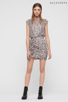 AllSaints Floral Hali Dress