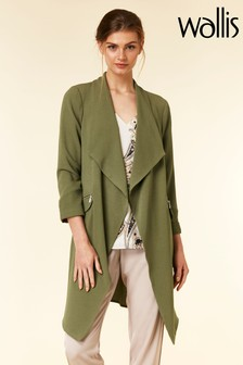 Wallis Green Daisy Duster Jacket