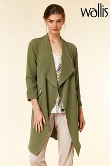 Wallis Green Daisy Duster Jacket