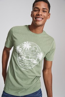 Washed Volkswagen Camper T-Shirt