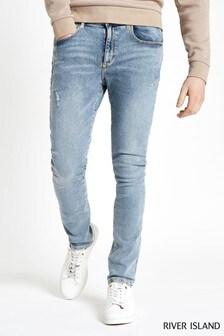 River Island Light Wash Super Skinny Jean