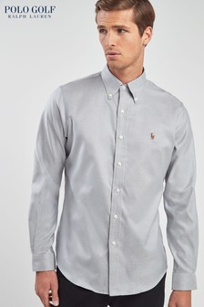 Polo Golf by Ralph Lauren Grey Oxford Shirt