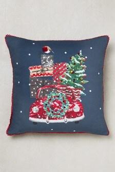 Christmas Car Cushion