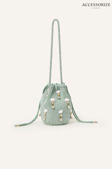 Accessorize Kate Satin Foldover Clutch Bag