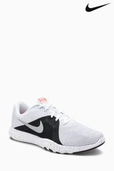 Nike Gym White/Grey Flex TR8