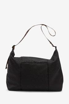 Leopard Printed Hobo Bag