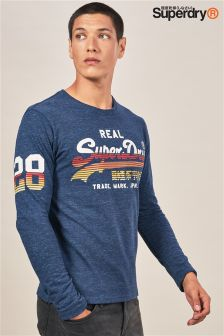 Superdry Long Sleeve Script Tee