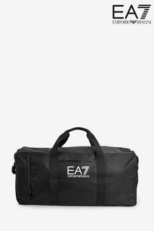 Emporio Armani EA7 Black Gym Bag