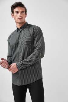 Regular Fit Fine Stripe Shirt
