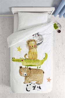 Animal Fun Bed Set
