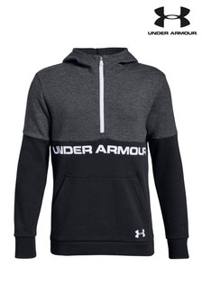 Under Armour Black Unstoppable Half Zip Top