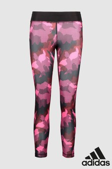 adidas Pink Printed Tight