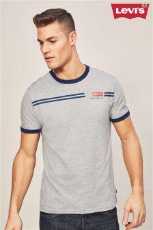 Levi's® Grey Ringer Logo T-Shirt