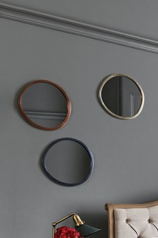Set of 3 Mixed Metallic Mirrors