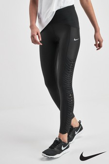 Nike Speed Twist Black Training Leggings