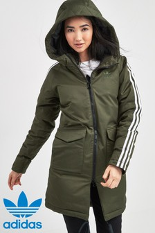 adidas Originals Green Down Parka