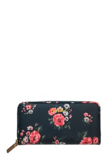 Cath Kidston® Blue Grove Bunch Continental Zip Wallet