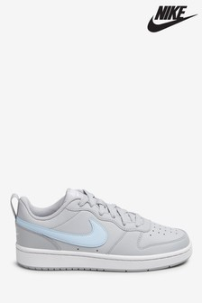 Nike Grey Court Borough Low Youth Trainers