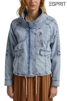 Esprit Blue Casual Denim Jacket