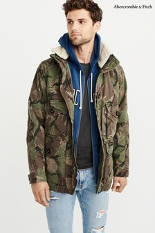 Abercrombie & Fitch Camo Jacket